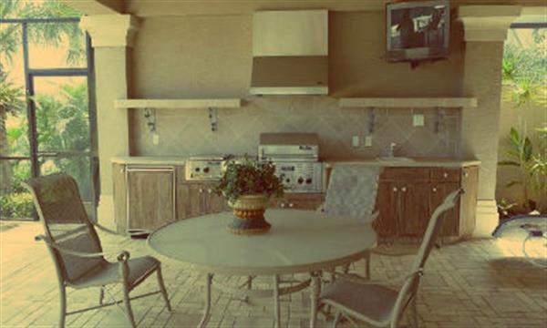 Как обустроить кухню на даче?