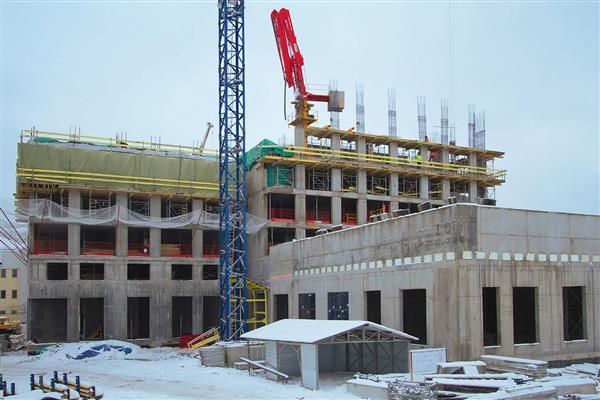 TEKTA GROUP завершила самый трудоёмкий этап строительства  ЖК «Маяковский»