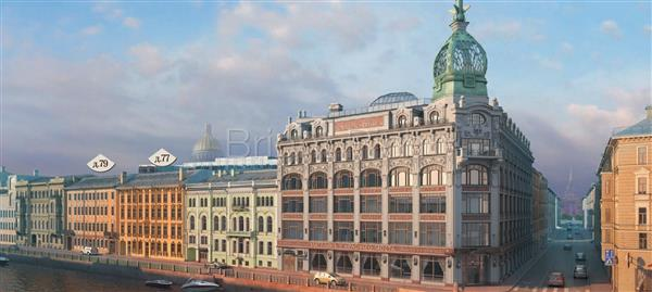 Компания «Газпромнефть-Нефтесервис» арендовала пятый этаж в Особняках «У Красного моста»