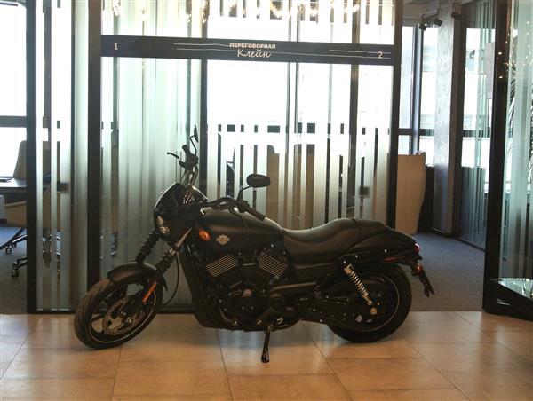 Harley-Davidson от «Колди» – только для покупателей апартаментов LOFTEC