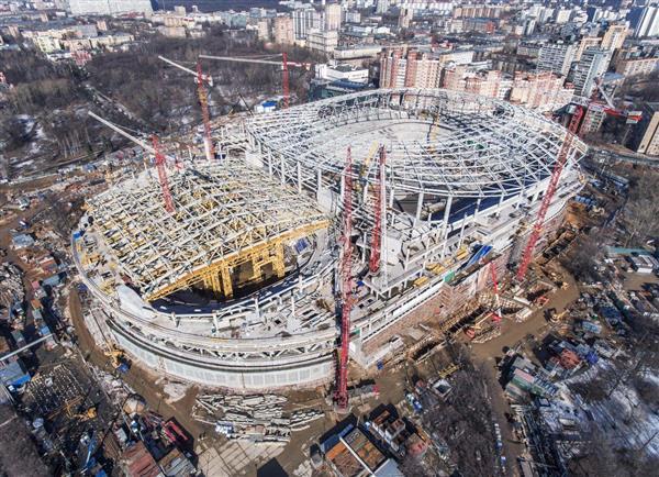 «ВТБ АРЕНА» номинирована на звание лучшей будущей спортивной арены года на WORLD STADIUM CONGRESS AND AWARDS-2017