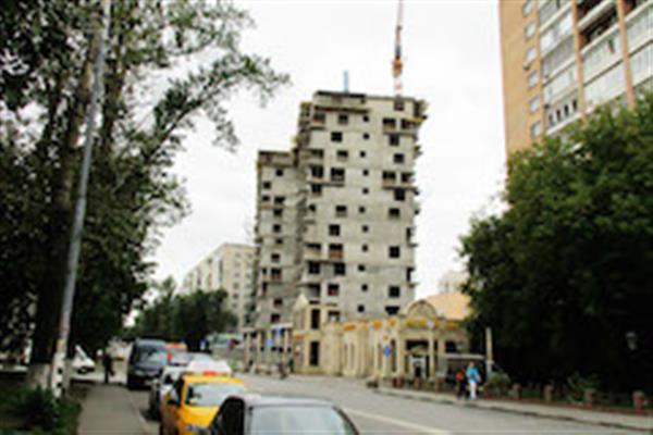 Новые фотографии со стройплощадки дома на Душинской, 16