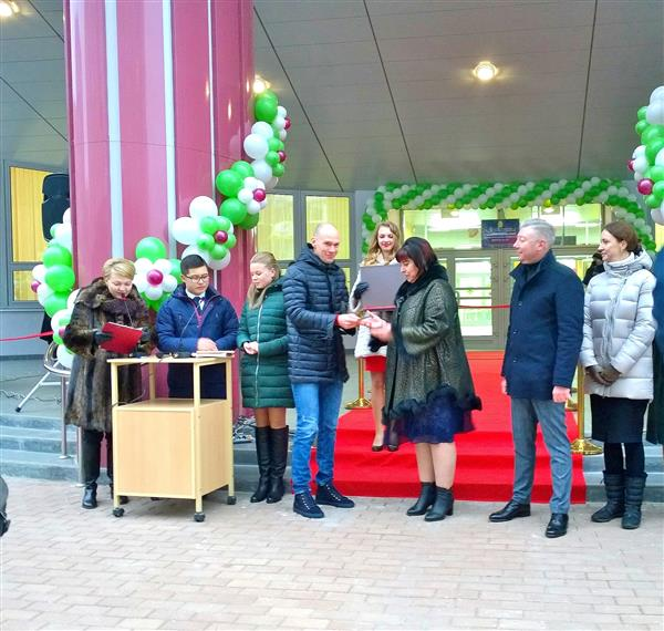 В ЖК «Видный берег» открылась муниципальная школа