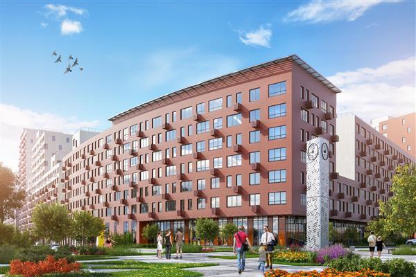 В корпусе №3 и №4 ЖК «Новокрасково» приступили к заключительному этапу строительства
