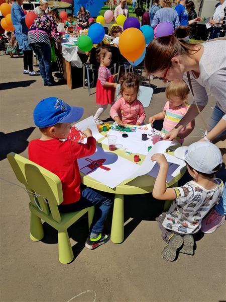 В городе-курорте «Май» состоялся День защиты детей