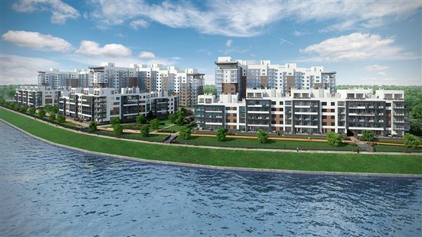 В «Балтийской жемчужине» выведены в продажу 300 новых видовых квартир в ЖК «Жемчужный берег»