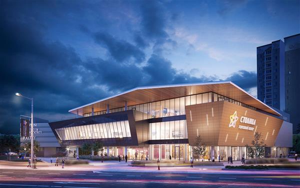 УК «Столица Менеджмент» представила архитектурную концепцию нового ТЦ